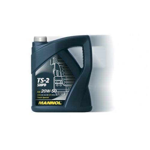Моторное масло MANNOL TS-2 SHPD, 20W-50, 5 л, 4036021256689