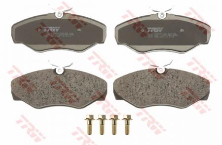 Колодки дисковые Передние, TRW, GDB1466