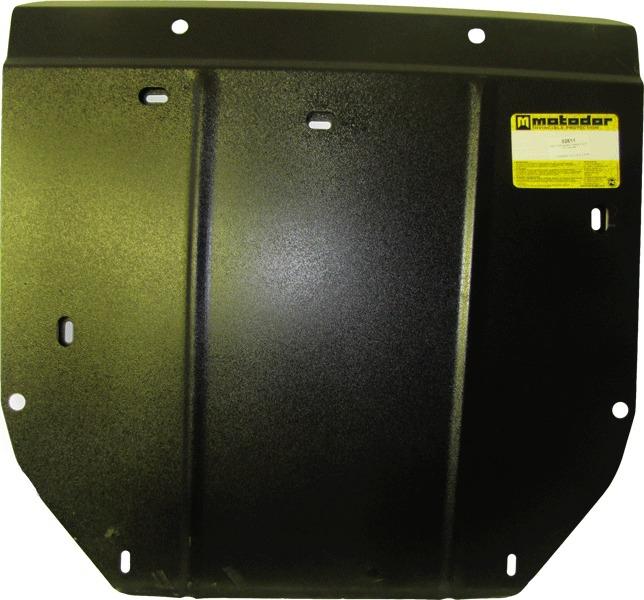Защита картера двигателя, КПП Volvo S60 2000-2009 V= все (сталь 2 мм), MOTODOR02611