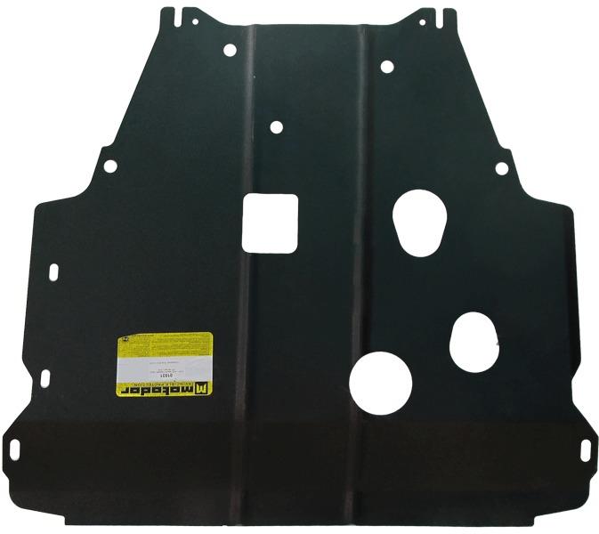 Защита картера двигателя, КПП Kia Soul 2009-2013 V=1,6i (сталь 2 мм), MOTODOR01031