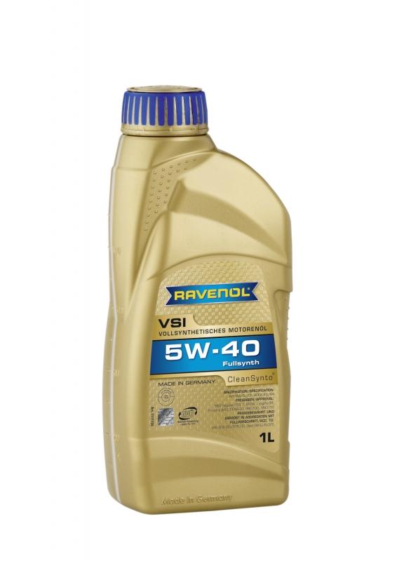 Моторное масло RAVENOL VSI, 5W-40, 1л, 4014835723511