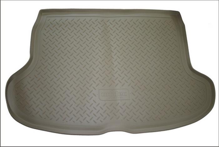 Коврик багажника для Audi (Ауди) Q5 (2008-2012) (беж), NPLP0504BEIGE