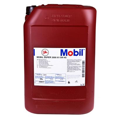 Моторное масло Mobil Super 3000 X1, 5W-40, 20л