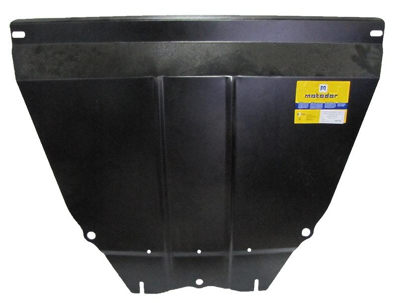 Защита картера двигателя, КПП Lifan Solano 2008- V=1,6i (сталь 2 мм), MOTODOR04702