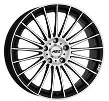 Колесный диск Aez Диск колёсный литой Valencia dark 8x18/5x112 D66.6 ET48 черный (BK)