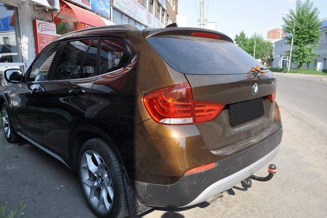 Фаркоп для BMW X1 (2009-) без электрики ., BOSAL, 4753A