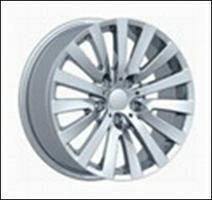 Колесный диск Ls Replica B91 7.5x17/5x120 D72.6 ET20 серый глянец, полированнные спицы и обод (GMF)