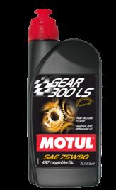 Масло трансмиссионное Motul Gear 300LS, 75W-90, 1л, 102686