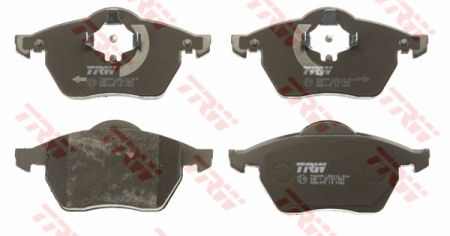 Колодки дисковые Передние, TRW, GDB1275