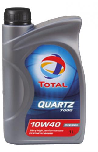 Моторное масло TOTAL QUARTZ 7000 Diesel, 10W-40, 1л, RO168033
