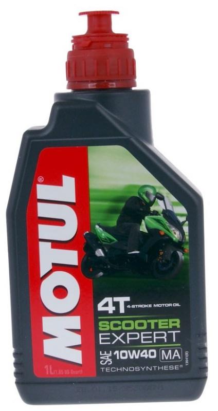Моторное масло MOTUL Scooter Expert 4T, 10W-40, 1л, 105935