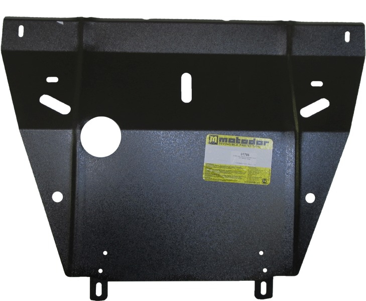 Защита картера двигателя Renault Twingo I 1992-2007 V=1.2 (сталь 2 мм), MOTODOR01706