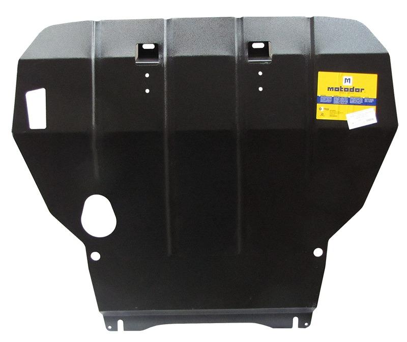 Защита картера двигателя, КПП Chery Amulet (A15) 2003- V= все (сталь 2 мм), MOTODOR09006