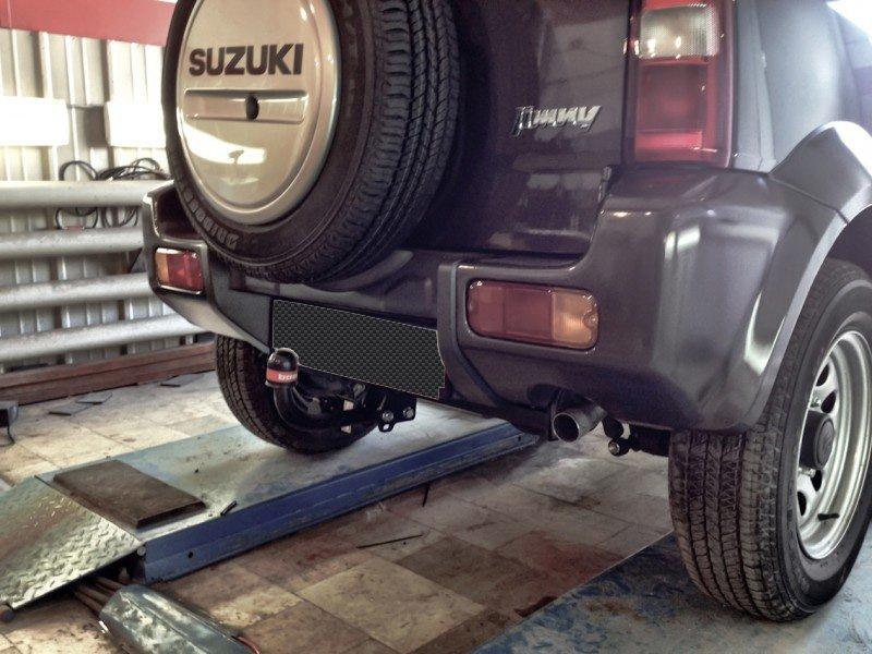 Фаркоп для Suzuki Jimny (1998/9-)без электрики., BOSAL, 2852A