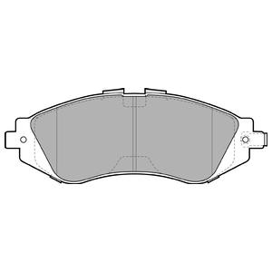 Колодки дисковые, DELPHI, LP1304