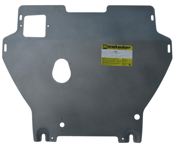 Защита картера двигателя, КПП Honda CR-V IV 2012- V=2,0i (алюминий 5 мм), MOTODOR30807