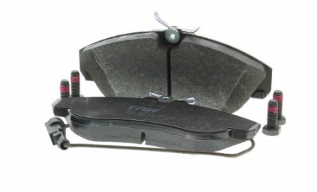 Колодки дисковые Передние, TRW, GDB1426