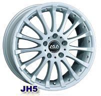 Колесный диск Asa JH5 7x15/4x100 D57.1 ET40 серебро