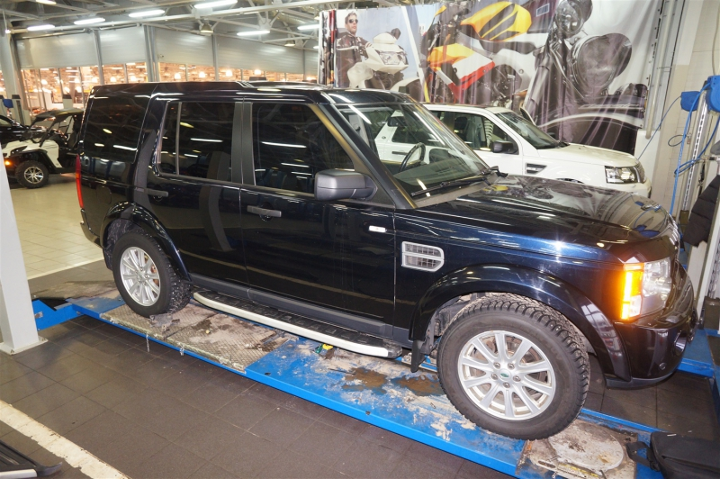 Пороги алюминиевые (Alyans) Land Rover Discovery 4 (2010-)/Discovery 3 (2008-2010), LADI471485