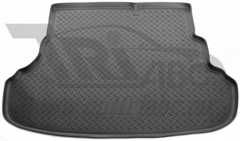 Коврик багажника для Hyundai Solaris (Хёндай Соларис) Седан (для автомоб. со склад. сидениями)(2010-
