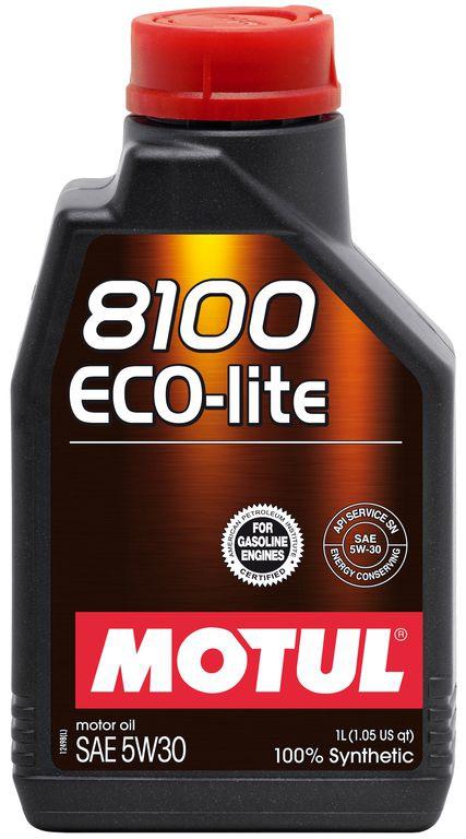 Моторное масло MOTUL 8100 Eco-lite, 5W-30, 1 л, 104987