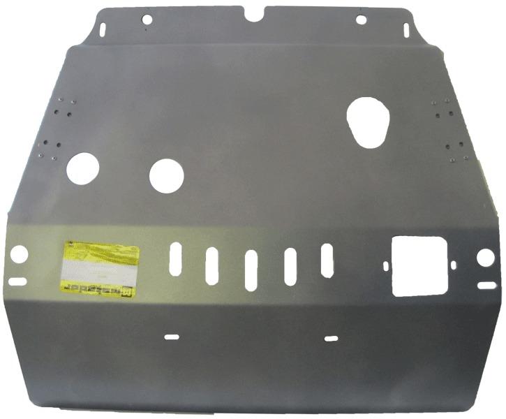 Защита картера двигателя, КПП Lexus RX III 2009- Toyota Highlander II 2008-2013 V=3,5 (алюминий 5 мм