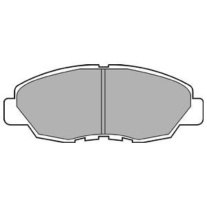 Колодки дисковые, DELPHI, LP734
