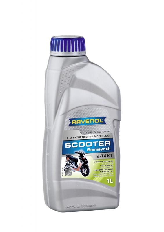 Моторное масло RAVENOL SCOOTER 2-Takt Teilsynth, 1 л, 4014835728110