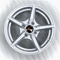 Колесный диск 4go 539 5.5x13/4x98 D58.6 ET35 серебристый