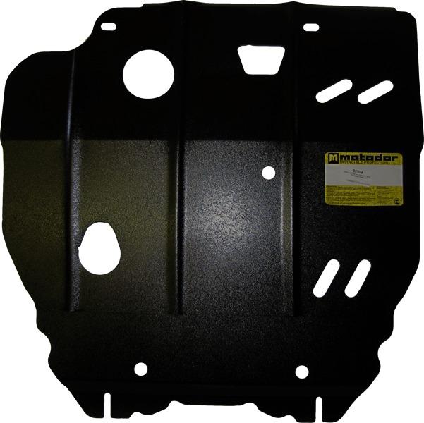 Защита картера двигателя, КПП Dodge Caliber 2006- V= все (сталь 2 мм), MOTODOR02904