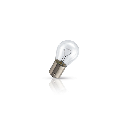 Лампа Philips Vision, 12 В, 21 Вт, P21W, BA15s, 12498CP