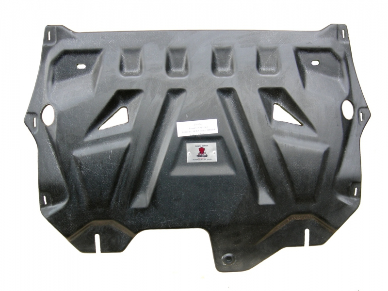 Защита картера двигателя и кпп VW PoloSD V-все(10-)/Skoda Fabia (Шкода Фабия)(10-), Rapid V-все(14-1