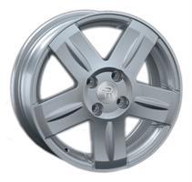 Колесный диск Ls Replica NS117 5.5x14/4x100 D66.6 ET43 серебристый (S)