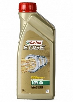 Моторное масло CASTROL EDGE Titanium FST, 10W-60, 1л, 4637380060
