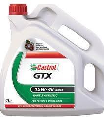 Моторное масло CASTROL GTX, 15W-40, 4л, 4651220090