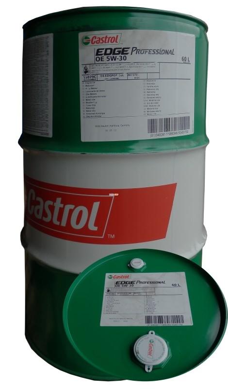 Моторное масло CASTROL EDGE PROFESSIONAL, 5W-30, 60л, 4673700045
