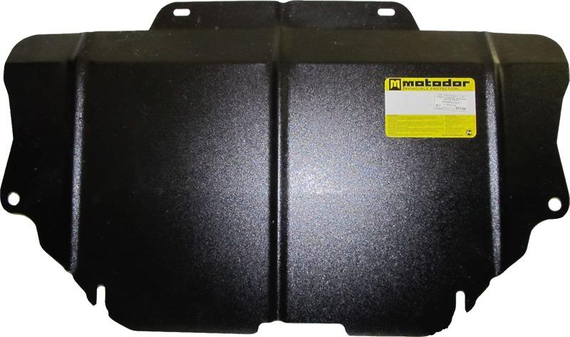 Защита картера двигателя, КПП Mazda 6 2013- Mazda CX5 2011- V=2,0i (сталь 2 мм), MOTODOR01129