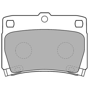 Колодки дисковые, DELPHI, LP1546