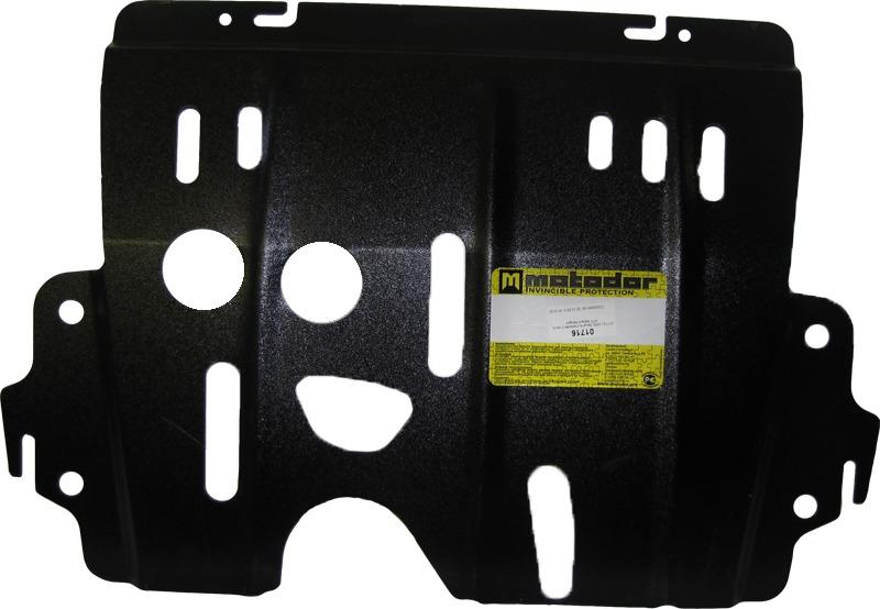Защита картера двигателя, КПП Renault Kangoo Express (FC_) 1998-2008 Renault Symbol ll 2008- V=1,5D