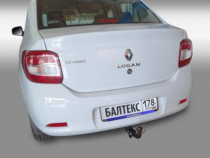 Фаркоп Renault LOGAN 2014-, без электрики, БАЛТЕКС, 18268212