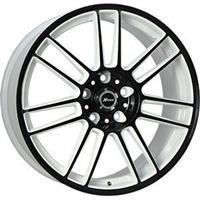 Колесный диск X-Race AF-06 8x18/5x120 D72.6 ET30 белый+черный (W+B)