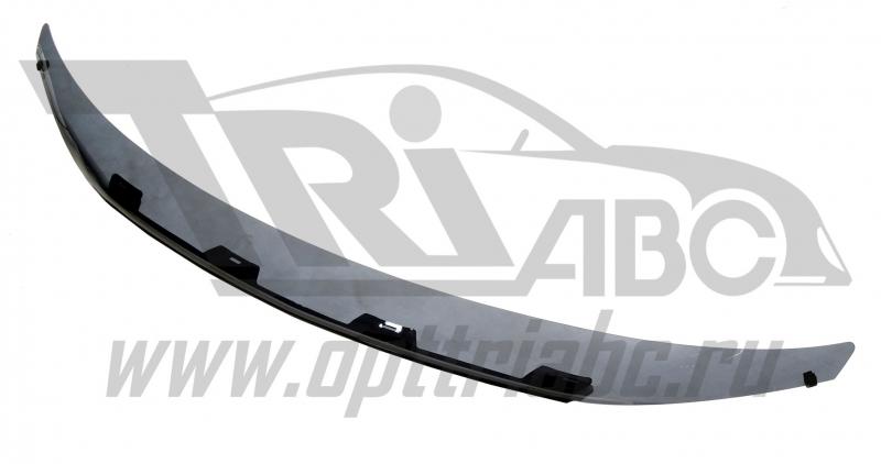 Дефлектор капота Mitsubishi Outlander (Митсубиши Аутлендер) XL (2007-2009) темный, SMIOUT0712
