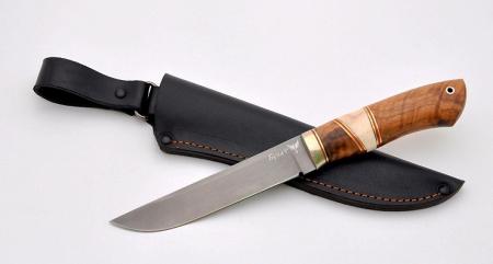 Нож Егерь (булат, орех, рог лося), KNIFE YARD, 00522
