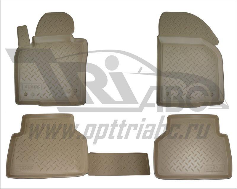 Коврики салона для Kia Sorento Prime (2015-) Бежевый, NPA10C43652BEIGE