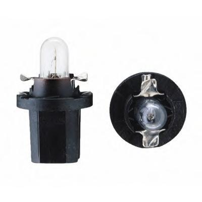 Лампа, 12 В, 1,2 Вт, BAX8,5d/2, PHILIPS, 12598 B2