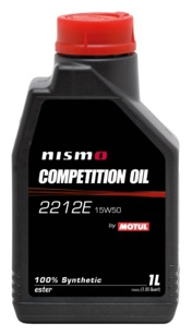 Масло моторное MOTUL Nismo Competition Oil 2212E, 15W-50, 1л, 102823