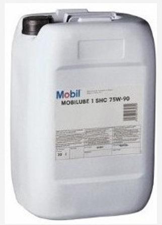 Масло трансмиссионное Mobil MOBILUBE 1 SHC, 75W-90, 20л, 123716