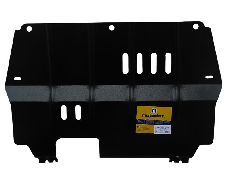 Защита картера двигателя, КПП Skoda Fabia II 2007- Rapid 2013- Roomster 2006- Roomster 2010-/VW Polo