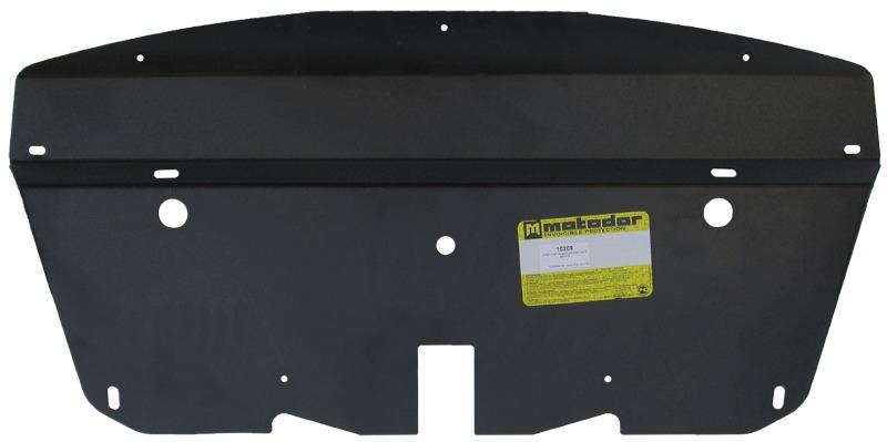 Защита радиатора BMW X6 кузов E71 2009- V=5,0i (сталь 3 мм), MOTODOR10209