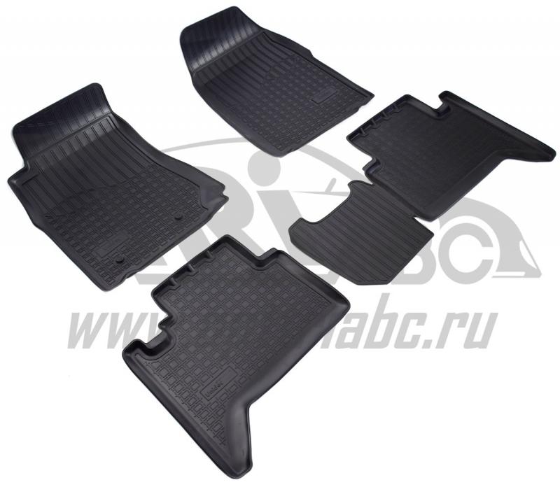 Коврики салона для Chevrolet Trail Blazer (GM 800) (2012-) (5 мест), NPA01C12780